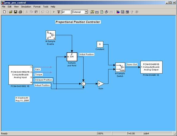 Reklab manual mcgill faculty of medicine biomedical engineering link to model file proportional position controller ccuart Images
